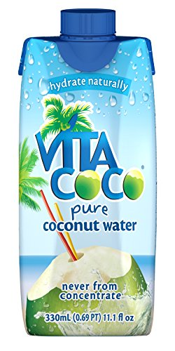 Vita Coco 100% Pure Coconut Water, 11.1 Ounce (Pack of 12)