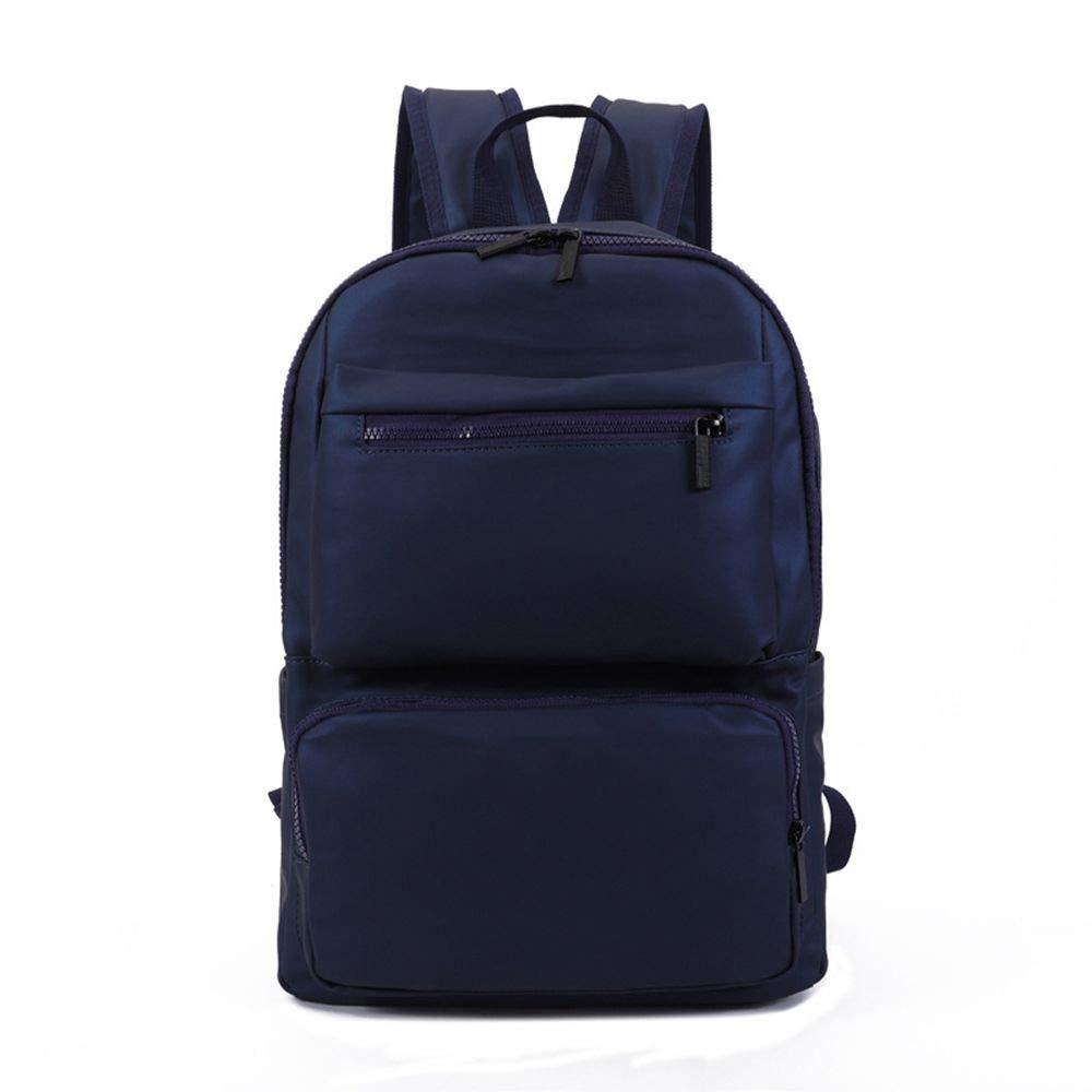 bluee DYR Computer Backpack Waterproof Bag Men and Women Outdoor Travel Bag Casual Chest Bag Shoulder Bag Backpack