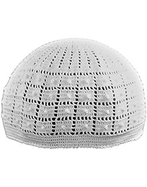 Dotted Crochet Cap