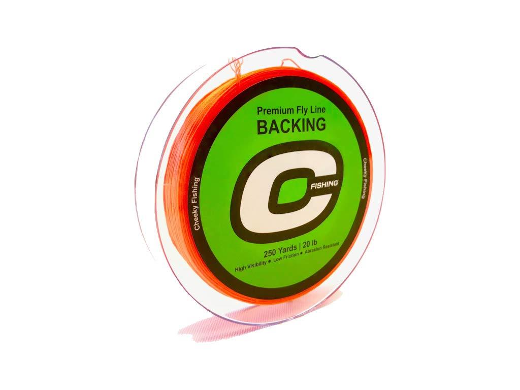 Cheeky Premium Fly Line Backing 250 Yard 20 lb Spool