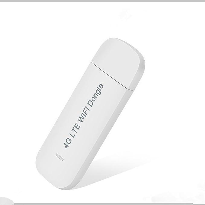 3G LTE Router WiFi para Autom/óVil Hotspot 150Mbps Dongle USB Inal/áMbrico M/óDem de Banda Ancha M/óVil Tarjeta SIM Desbloqueada Domilay/Port/áTil 4G