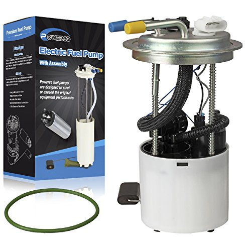 Electric Gas Fuel Pump Module Assembly E3768M /P76297M with Pressure Sensor Float Reservoir Strainer and Tank Seal Replacement for GMC Yukon 2012-2014 V8-6.2L and Chevrolet Tahoe 2011-2014 - Pump Tank Module