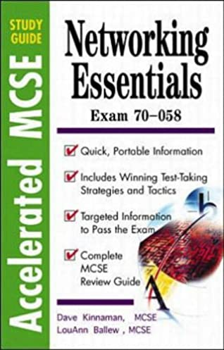 networking essentials accelerated mcse study guides amazon co uk rh amazon co uk mcse networking essentials study guide pdf Networking Essentials 6th Edition