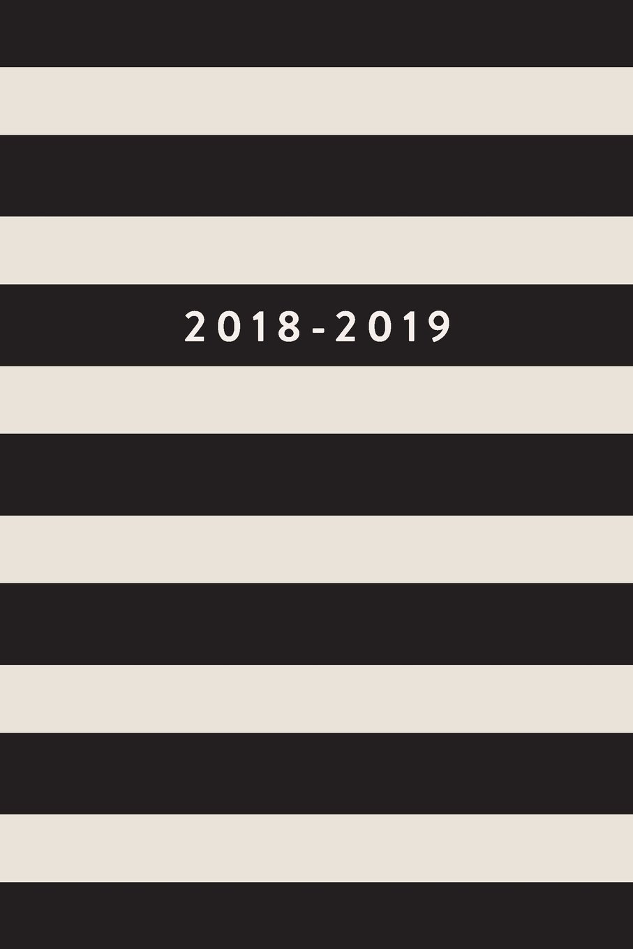 "Download 2018-2019: Daily Monthly & Weekly Academic Student Planner  2018-2019, Black Stripes, August 2018 - July 2019, 6"" x 9"" (Academic Student Planner with ... Women, Teenagers, Girls, Students & Teachers) pdf epub"