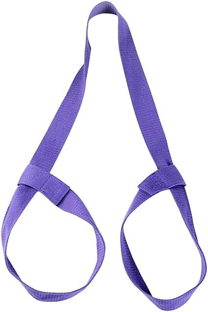 Adjustable Yoga Mat Strap Purple