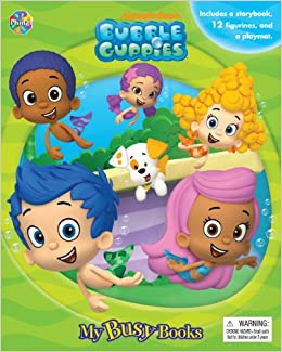 Bubble Guppies My Busy Book Phidal Publishing Inc