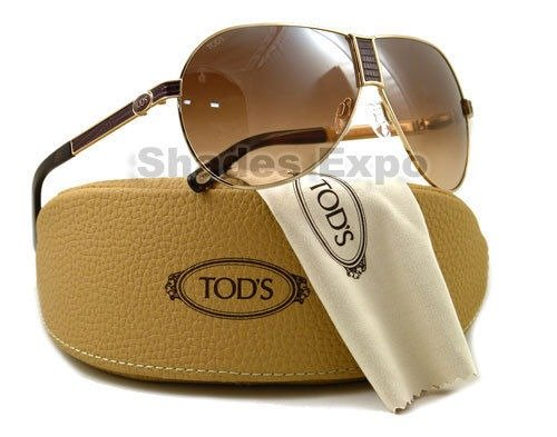 NEW Tods Sunglasses TO 07 Havana 28G