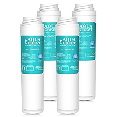 AQUACREST FQROPF Replacement Under Sink Water Filter, Compatible with GE FQROPF Reverse Osmosis Water Filter