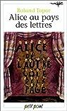 Alice au pays des lettres par Topor