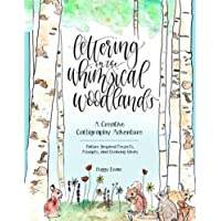 Hand Lettering In The Whimsical Woodland
