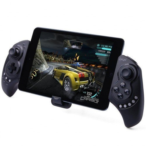 IBEPRO IPEGA PG-9023 Telescopic Wireless Bluetooth Game Controller Gamepad for iPhone iPod iPad iOS System, Samsung Galaxy Note HTC LG Android Tablet PC