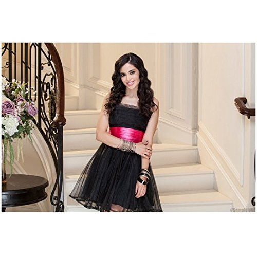 devious-maids-tv-series-2013-8-inch-by-10-inch-photograph-edy-ganem-black-dress-w-pink-ribbon-around
