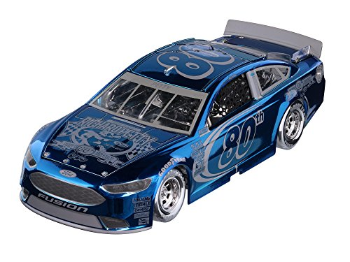 Lionel Racing Richard Petty #80 80th Birthday Icon 2017 Ford Fusion 1:24th Scale Elite Color Chrome HOTO Official Diecast of The Monster Energy NASCAR Cup Series by Lionel Nascar Collectables