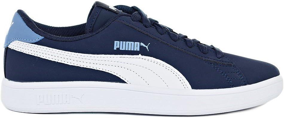 Puma Smash V2 Buck JR 36518202 Couleur: Bleu Marine
