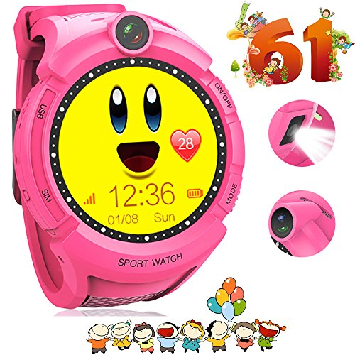 Price comparison product image Kids GPS Smart Watch Activity Sports Fitness Tracker