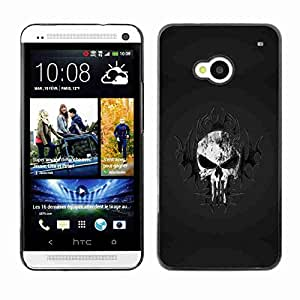 Planetar? ( Tribal Skull ) HTC One (M7)hard printing protective cover protector sleeve case