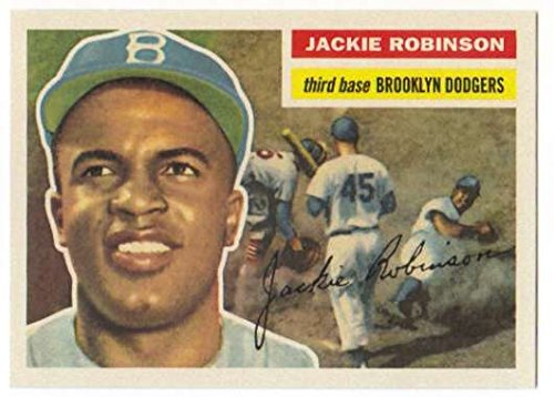 2016 Topps Topps Berger's Best #BB-5 Jackie Robinson Brooklyn Dodgers Baseball -