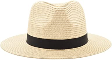 Fashion Unisex Linen Fedora hat Trilby Gangster Cap Summer Style Beach Sun hat Panama Hat