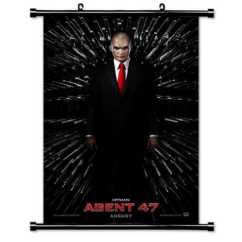Amazon Com Hitman Agent 47 Movie Fabric Wall Scroll Poster