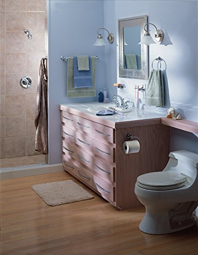 Moen Dn8486ch Preston Bathroom Towel Ring Chrome Import It All