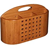 Totally Bamboo Eco Dish Rack Utensil Holder, Beautiful and Durable Bamboo