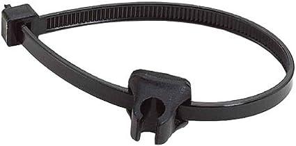 Alligator HK-26-DIY Gripper-II Zip-Tie Bicycle Cable Guide //// Black //// 2 pk.