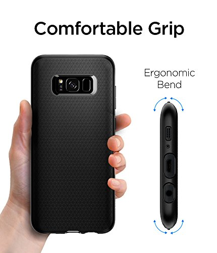 quality design 32029 6d2e2 Spigen Liquid Air Armor Designed for Samsung Galaxy S8 Plus Case (2017) -  Black