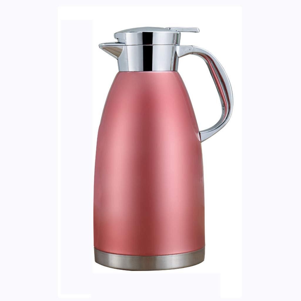 FYCZ Isolierkanne, 2.3L Doppelwand Isolierte Edelstahl Thermokaffeekaraffen Heiße Kühle Getränke Saftkanne Tee Isolierkanne 78 Oz