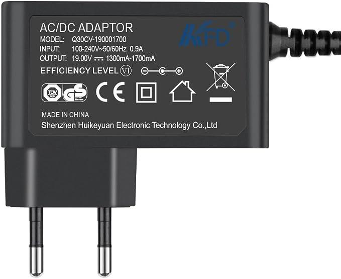 KFD DC19V - Adaptador de alimentación para televisor LG 32LF510B 32LF510B-DB 32LF510D 32LF510D-DB 32LF510B-SB 32LF510B-SD 32LF510B-ZB 24MT58 24MT58DF 24MT58VF 27MT58 27MT58DF 27MT58DF 27MT58VF 27MT58VF: Amazon.es: Electrónica