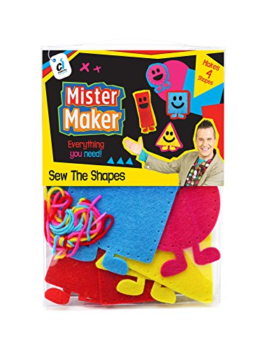 (Mister Maker 88469 The Shapes Sewing Kit)
