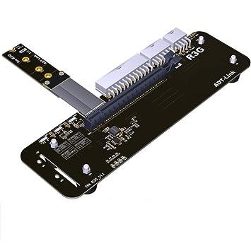 ADT-Link M.2 Key M NVMe Soporte para Tarjeta gráfica Externa ...