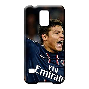 samsung galaxy s5 mobile phone carrying skins Slim Fit Ultra For phone Fashion Design the football player of psg thiago silva