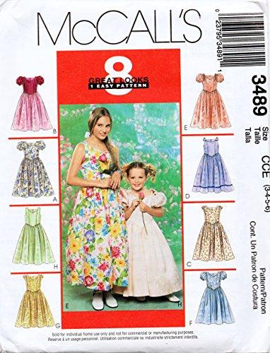 Princess Seam Dress Pattern - 9