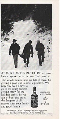 Magazine Print ad: 1982 Jack Daniel