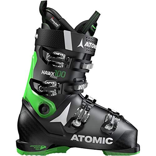 Atomic HAWX Prime 100 Ski Boot - Men's Black/Green, 26.5 ()