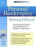 Personal Bankruptcy Simplified, Daniel Sitarz, 1892949024