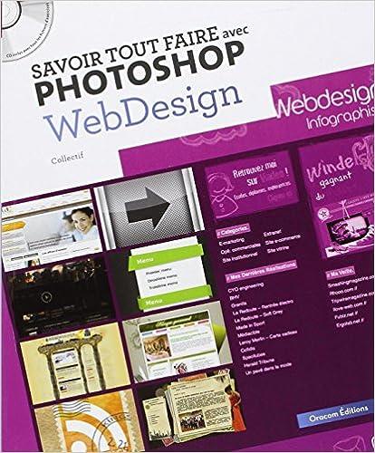 Livres audio téléchargeables gratuits en ligne Savoir tout faire avec Photoshop Webdesign (1Cédérom) PDF