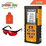 Tools & Hardware : 196ft Laser Measure - Morpilot Laser Tape Measure with Target Plate & Enhancing Glasses, Laser Measuring Device with Pythagorean Mode, Measure Distance, Area, Volume Calculation