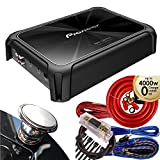 Pioneer GM-D9701 2400 Watts Class-D Mono Amplifier with Wired Bass Boost Remote + Wire Kit