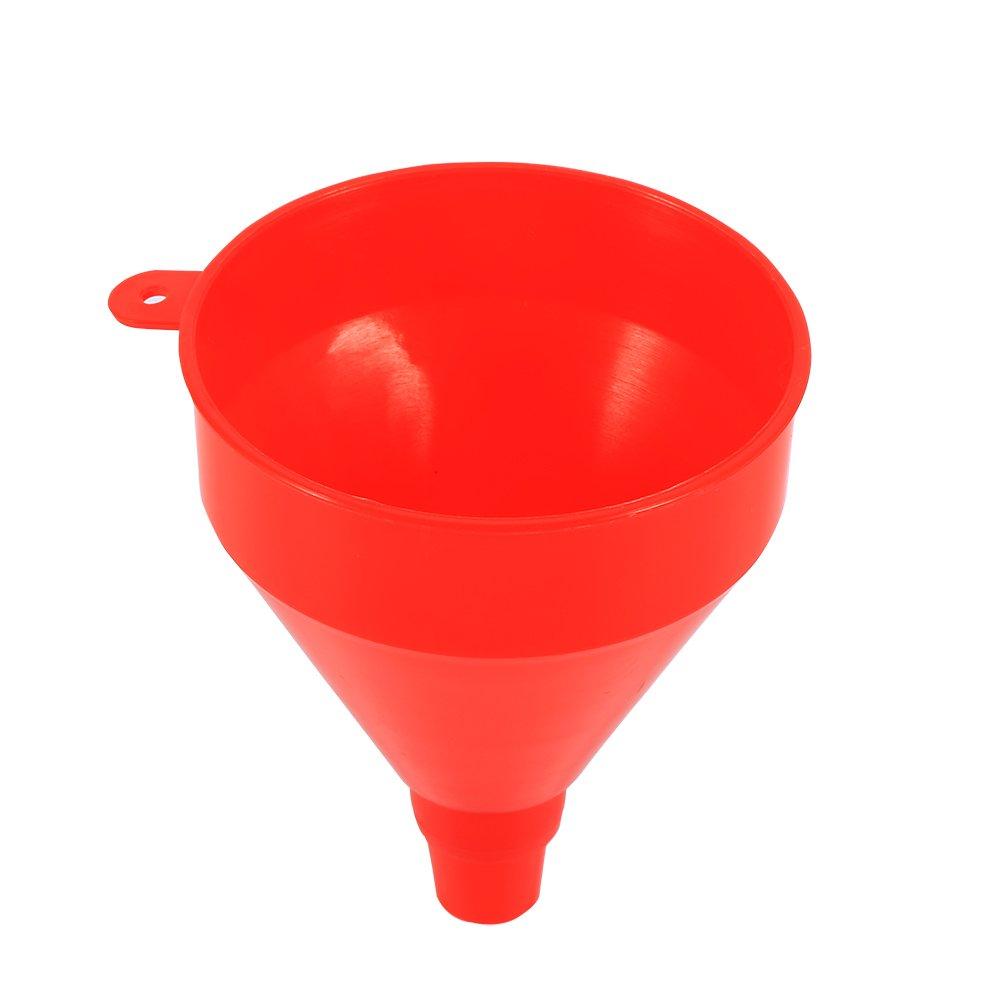 Sunborui Veh/ículo universal Embudo de llenado de pl/ástico con ca/ño de tubo suave Vierta la herramienta de aceite Gasolina Diesel Embudo de pl/ástico con tubo flexible