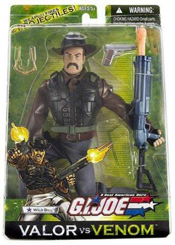 Wild Bill Action Figure Wisconsin Toy Co. G.I Venom Joe: Valor vs