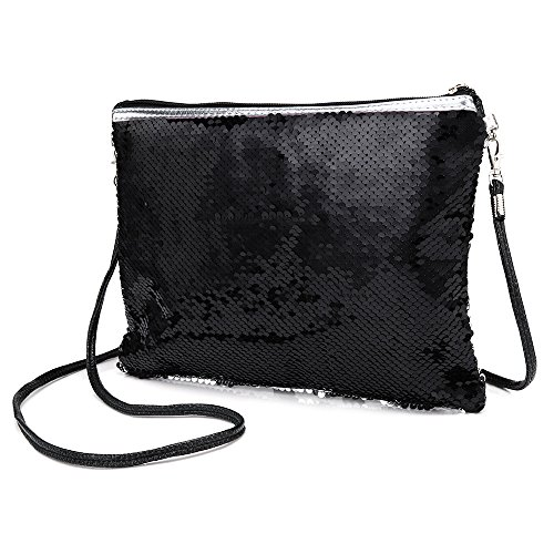 Women Handbag Ladies Glitter Sequin Purse Evening Purse Shoulder Shoulder Gold Clutch for Green Bag Bag q88WwPxd