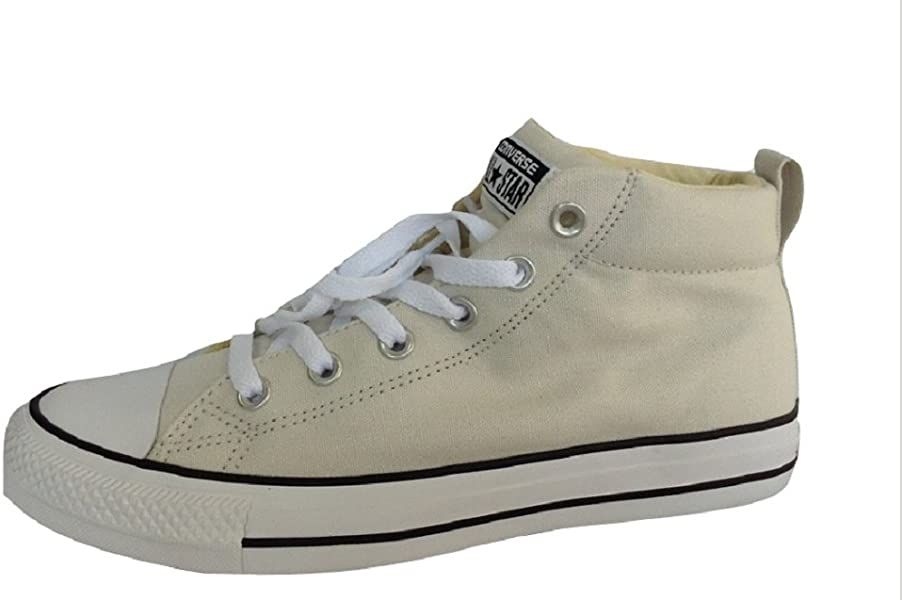 Converse Chuck Taylor All Star Street Mid Pale Putty Black White (11.5 D 7fa81a262b