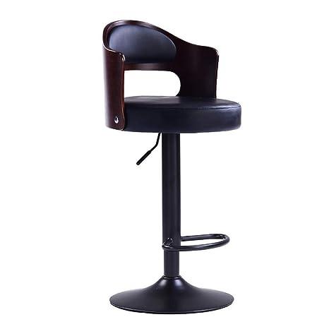 Pleasant Amazon Com Bar Stool Retro Metal Portable Highly Rotating Ibusinesslaw Wood Chair Design Ideas Ibusinesslaworg