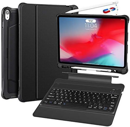Funda para iPad Pro 12.9 con teclado 2018 3.a Negra