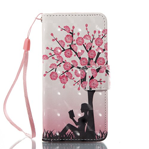 Urberry iPod Touch 5th / 6th Generation Case, 3D Bling Wallet Case for iPod Touch 5th / 6th Generation with a HD Screen Protector (Pink) (Ipod Pink Sock)