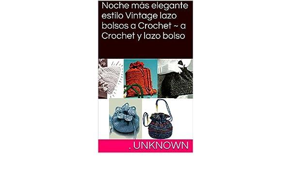 Noche más elegante estilo Vintage lazo bolsos a Crochet ~ a ...