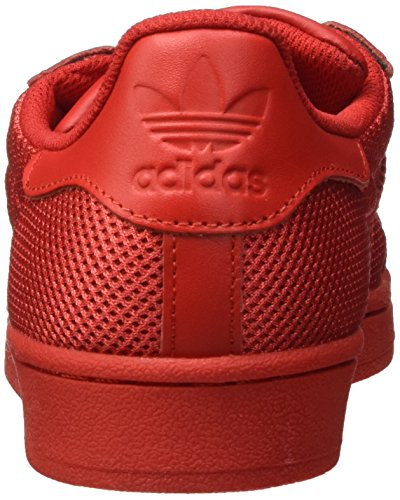 Adidas Superstar Hombres Trainers Red