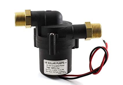 TOPSFLO TS5 15PV (cu-npt) 12 V DC bomba de calentador de agua