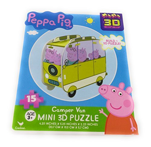 Kids Playtime Toddler Fun - 15 Pieces Jigsaw Puzzle Peppa